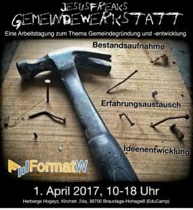Gemeindewerkstatt_Vorankündigung