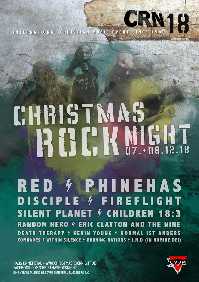 Christmas Rock Night 2018 | Jesus Freaks Deutschland