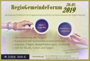 Regio-Gemeinde-Forum Sachsen 2019