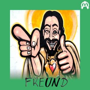 Jesus hatte 12 Freunde, die mit ihm unterwegs waren. Jesus brachte ihnen bei, was er wusste. Er aß, trank und feierte mit ihnen.